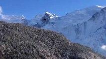 Hommage aux victimes des attentats de Paris dans la vallée de Chamonix