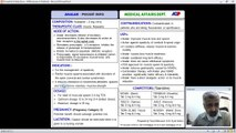 Analar Pocket Info Training by Dr. Saad Mustafa
