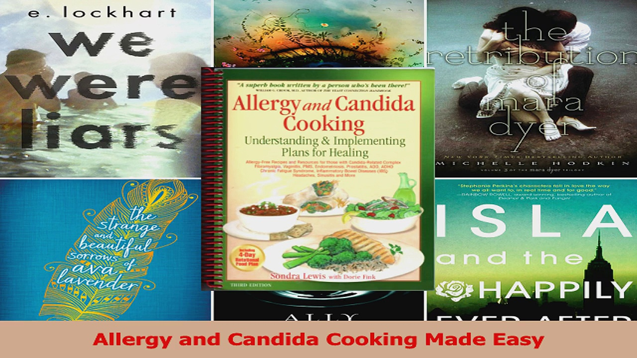 PDF Download  Allergy and Candida Cooking Made Easy PDF Full Ebook