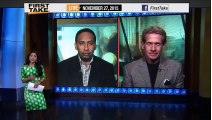 ESPN First Take - Panthers Destroy Cowboys & QB Tony Romo!