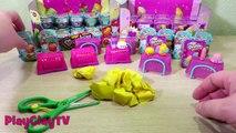 shopkins season 3  shopkins season 2 part 3 funny toys unboxing baskets PlaClayT