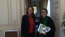 J - 2 avant la COP21: Ségolène Royal et Vandana Shiva