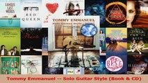 Download  Tommy Emmanuel  Solo Guitar Style Book  CD PDF online