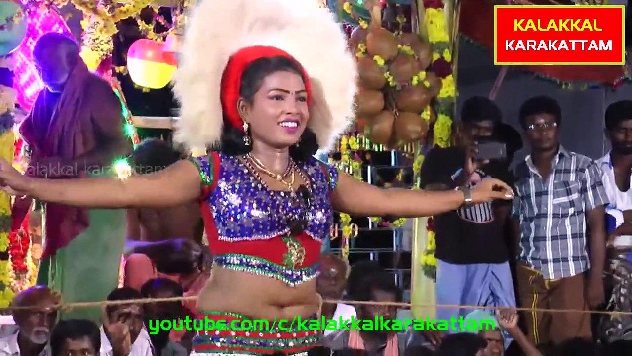 18+ Only-Tamil HOT Recording Dance-Karakattam