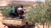Syria War 2015 Battle for Daraa • Heavy Clashes Battle Footage