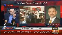 Check The Reaction of Kashif Abbasi On The Blatant Lies of Sharjeel Memon