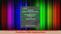PDF Download  Partial Differential Equations and Boundary Value Problems With Applications Download Online