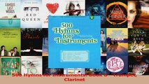 PDF Download  500 Hymns for Instruments Book B  Trumpet Clarinet Read Online