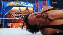 Undertaker vs Brock Lesnar Summerslam 2015 Full Match HD WWE Wrestling