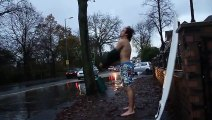 This Guy surfed Barrels in Manchester thanks to Rain!