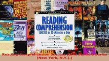 Read  Reading Comprehension Success Skill Builders Series New York NY Ebook Free