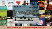 Read  Lock On No 26  Northrop F5F Tiger II Ebook Free