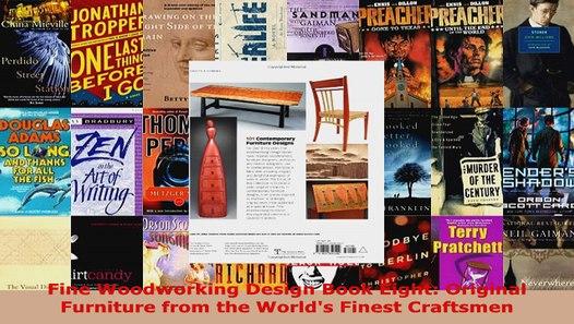 Read Fine Woodworking Design Book Eight Original Furniture ...