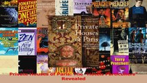 Read  Private Houses of Paris The Hotels Particuliers Revealed Ebook Free