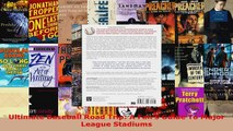 Read  Ultimate Baseball Road Trip A Fans Guide To Major League Stadiums EBooks Online