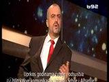 """TV """"B92"""" HUMOR ME EDI RAMEN,AKTORI SERB IMITON KRYEMINISTRIN DHE FLET SHQIP LAJM"""
