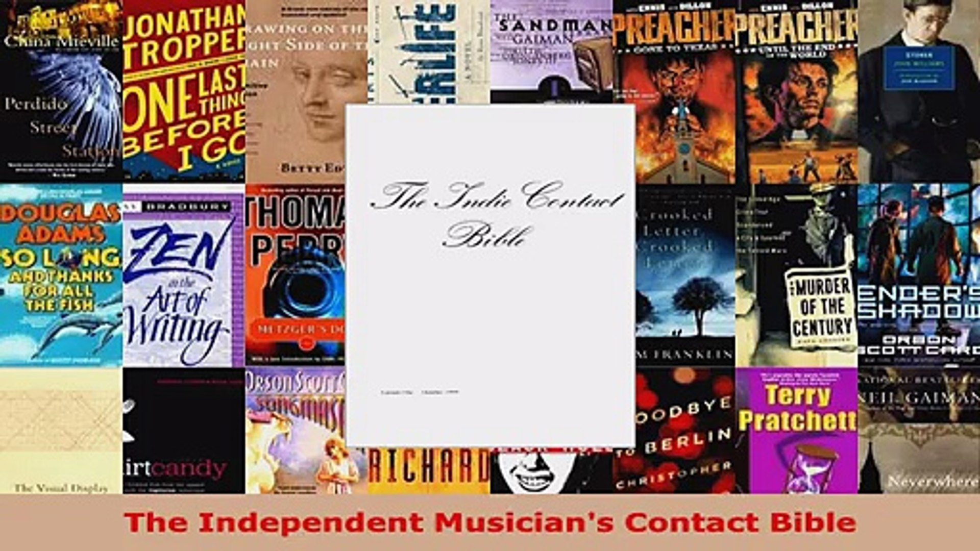 Read  The Independent Musicians Contact Bible Ebook Free