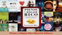 Download  Piense y Hágase Rico Spanish Edition PDF Free