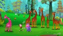 Finger Family Giraffe - ChuChu TV Animal Finger Family Nursery Rhymes Songs For Children