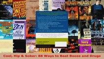 Read  Cool Hip  Sober 88 Ways to Beat Booze and Drugs PDF Free