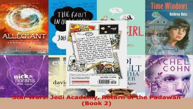 Read  Star Wars Jedi Academy Return of the Padawan Book 2 Ebook Free