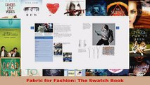 Read  Fabric for Fashion The Swatch Book Ebook Free