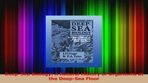 Read  DeepSea Biology A Natural History of Organisms at the DeepSea Floor PDF Free