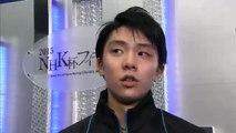 151128 NHK Trophy Yuzuru Hanyu interview