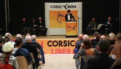 Discorsu di Josepha GIACOMETTI - Meeting CORSICA LIBERA