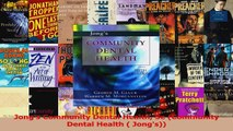 PDF Download  Jongs Community Dental Health 5e Community Dental Health  Jongs Download Online