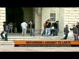 Reformimi i arsimit të lartë, brenda javës publikohet drafti - Top Channel Albania - News - Lajme