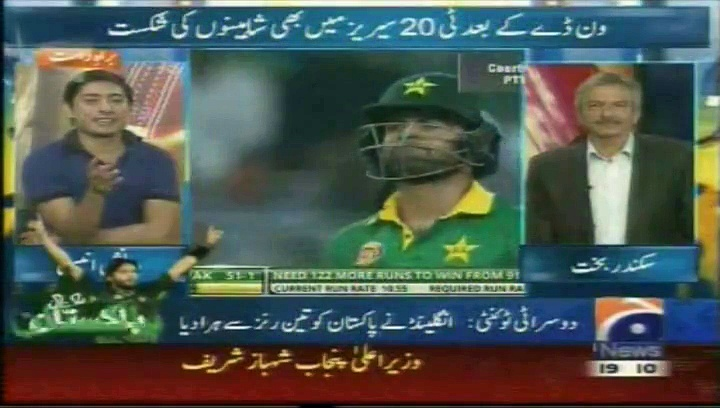 Geo news shows sports (Sikander Bakht )