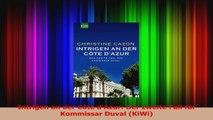 Read  Intrigen an der Côte dAzur Der zweite Fall für Kommissar Duval KiWi Full Download