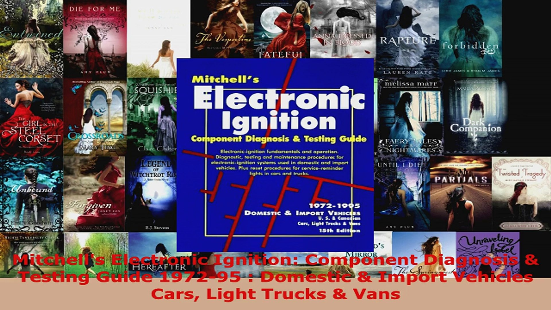 Import Vehicles Mitchells Electronic Fuel Injection Troubleshooting Guide