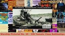 Download  Warship Pictorial No 25  IJN Yamato Class Battleships PDF Free