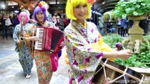 Japanese All Women Music Band seen at Hyper Japan Fair in London