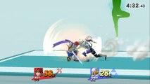 Roy VS Sheik - Super Smash Bros 4