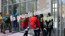 """Épreuve n°8 : Voyage dans le G:rand Nord de """"La Grande Évasion : le jeu"""" - Nuit des Étudiants 2015"""