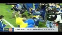 Presentación de Carlos Tevez con Boca Juniors en la Bombonera #TevezVuelveACasa 2015