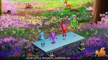 Five Little Monkeys Jumping On The Bed | Part 2 - The Robot Monkeys | ChuChu TV Kids Songs