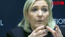 Régionales 2015. Marine Le Pen (FN) à Vannes «Le Drian aux