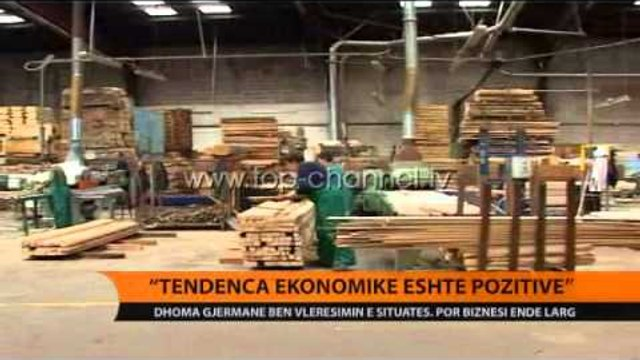 Dhoma gjermane e Tregtisë: Tendenca ekonomike është pozitive - Top Channel Albania - News - Lajme