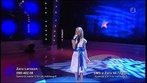 Talang 2008 - Zara Larsson 10år sjunger (Semifinal)