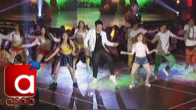 ASAP: Enrique Gil dances with Ella Cruz & Donnalyn Bartolome