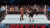 WWE RAW John Cena vs. Alexander Rusev 2015 - Payback WWE Wrestling  2015