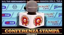 """Vigilia Roma-Atalanta. Garcia: """"Siamo arrabbiati dopo Barcellona e vogliamo fare bene in campionato"""""""