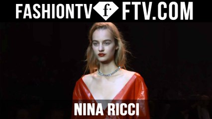 First Look at the Nina Ricci Spring 2016 Runway Show Backstage in Paris | FTV.com