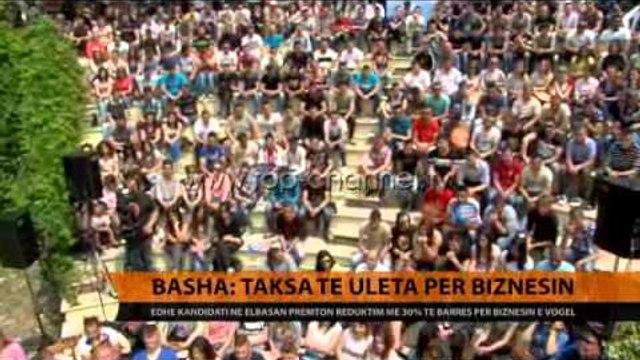 Basha në Elbasan: Taksa të ulëta për biznesin - Top Channel Albania - News - Lajme