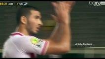 CAN U23 [AR] Tunisie 2-1 Zambia - But de Haythem Jouini (84') 28-11-2015 [bEIN Sport]