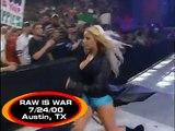 Trish Stratus vs Lita- show